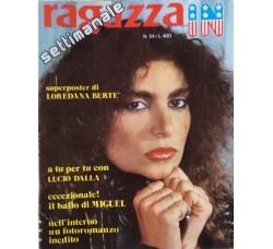 Loredana Bertè - Giornalino Ragazza In - Anni 80
