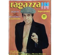 Ragazza In - Adriano Celentano - Contiene  POSTER