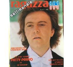 Umberto Tozzi - Giornalino Ragazza In - Anni 80