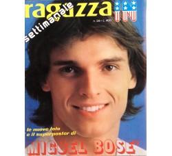 Miguel Bosè  - Giornalino Ragazza In - Anni 80