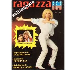 Enzo Avallone - Giornalino Ragazza In - Anni 80