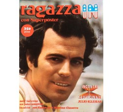 Julio Iglesias - Giornalino Ragazza In - Anni 80