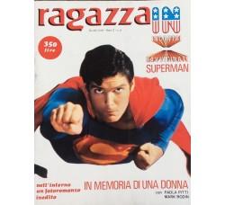 Superman Christopher Reeve - Giornalino Ragazza In