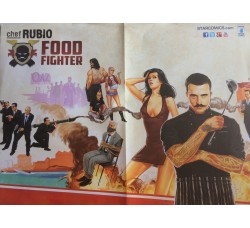 Poster - Chef rubio Figter  Star Comics