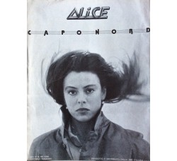 Alice - Caponord  Lancio album disco lp
