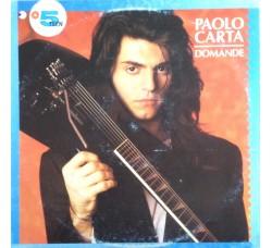 Paolo Carta – Domande  - LP/Vinile