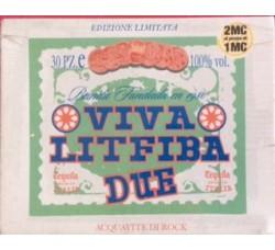 Litfiba – Viva Litfiba Due - 2 MC Sigillate