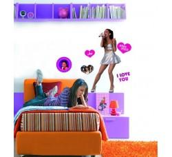 Ariana Grande - Poster Stickers removibile