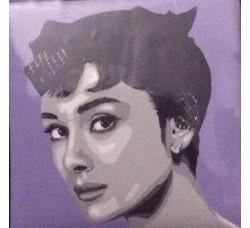 Caricatura  Audrey Hepburn Calamita Decorativa.