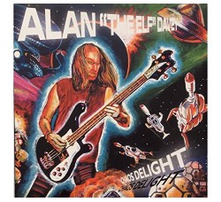 Alan Davey Chaos Of Delight LP + Fumetto - LP BWR-33