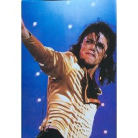 Michael Jackson - Cartolina  anni 80