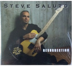 Steve Saluto ‎– Ressurection - Cd Digipak Sealed