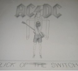 AC/DC - Flick of the Switch 1° Stampa Italiana 1983