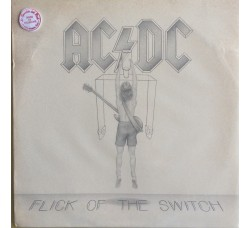 AC/DC - Flick of the Switch 1° Stampa Germany 1983