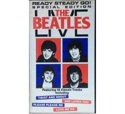 The Beatles - Live  - Rara Videocassetta.