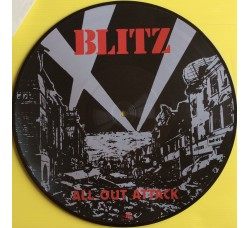 Blitz  ‎– All Out Attack - Picture Disc