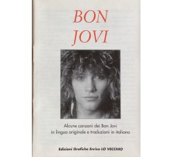 Bon Jovi - Mini Book  12 Canzoni