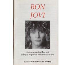 Bon Jovi - Mini Book  12 Canzoni