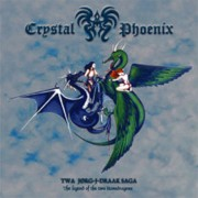 Crystal Phoenix ‎– Twa Jørg-J-Draak Saga - The Legend Of The Two Stonedragons - BWR-063