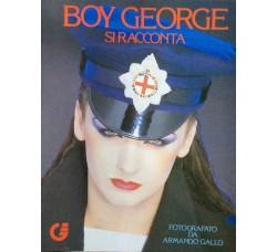 Boy George - Si racconta - Fotografato da Armando Gallo