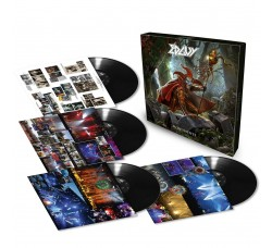 Edguy ‎– Monuments - Box 4 LP Vinyl