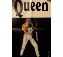 Queen - Rivista con Poster   di Freddie Mercury