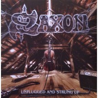 Saxon ‎– Unplugged And Strung Up - 2 Lp