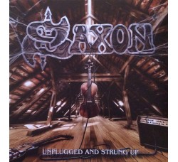 Saxon – Unplugged And Strung Up - 2 Lp