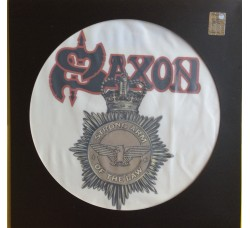 Saxon ‎– Stong Arm Of The Law - Picture Disc