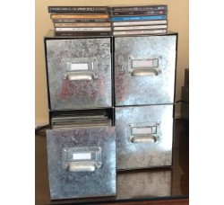 Box metallo porta CD - 60 Pz