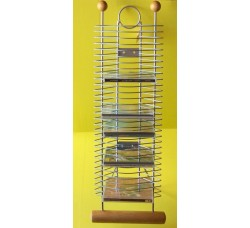 Torre in Metallo  per (30 CD) Silver Deluxe
