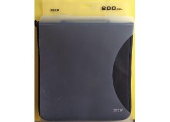 Borsa BECO - Schede intercambiabile - Contiene 200 CD, DVD