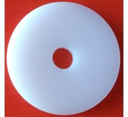Adattatore per Giradischi Plexiglass bianco - mm 5