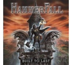 Hammer Fall - Built to Last - LP/Vinile Red Limited