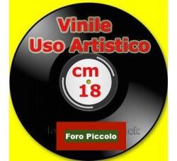 """Vinile formato 7"""" Uso Artistico Foro come LP"""