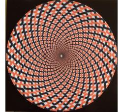 Slipmat Tappetino per Giradischi Spirale BICOLORE - TAP-1602