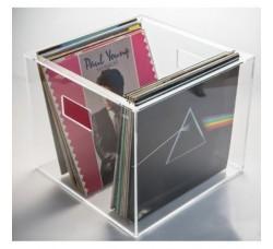 Box Contenitore per dischi vinile LP in plexiglass