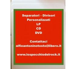 Separatore per  [LP - 45 - 78 GIRI - DVD]  Personalizzati