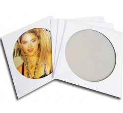 Copertina per Picture disc Colore Bianco