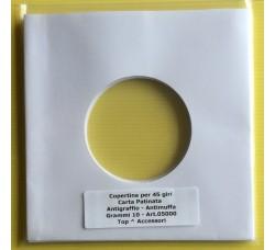 Manicotti carta Patinata Antigraffio per 45 giri.