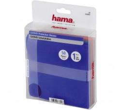 Bustine Hama - 50 Custodie per CD/DVD, diversi colori
