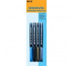 Beco - 4 Marcatori per scrivere Cd e DVD