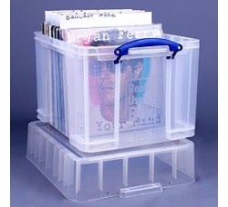 Contenitore di plastica per 140 LP