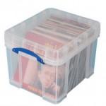 Contenitore di plastica per 100 LP