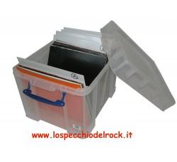 Contenitore Antiurto di plastica per 100 LP