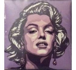 Marilyn fondo Viola Magnete da Collezione