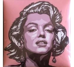 Marilyn fondo Rosa Magnete da collezione