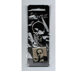 """Caricatura Marlon Brando """"Il padrino""""  Portachiavi da Collezione"""