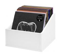 Box legno per 70/80 LP colore Bianco