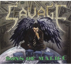 Savage - Sons Of Malice (Clear Vinyl) Limited Edition - 2 LP/Vinile